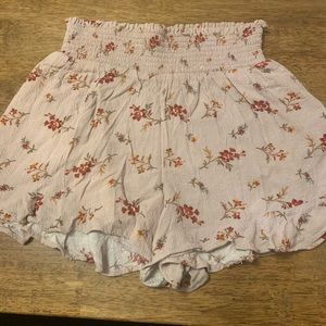 American eagle flower shorts